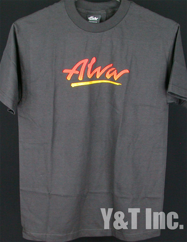 ALVA T-SHIRTS FLAME LOGO BLACK M 1