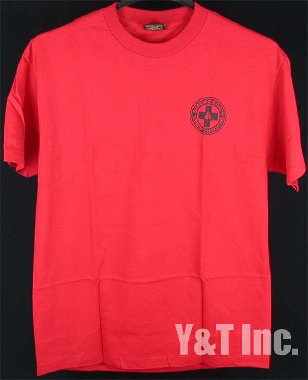 BLACK LABEL T-SHIRTS EMERGENCY RED L 1