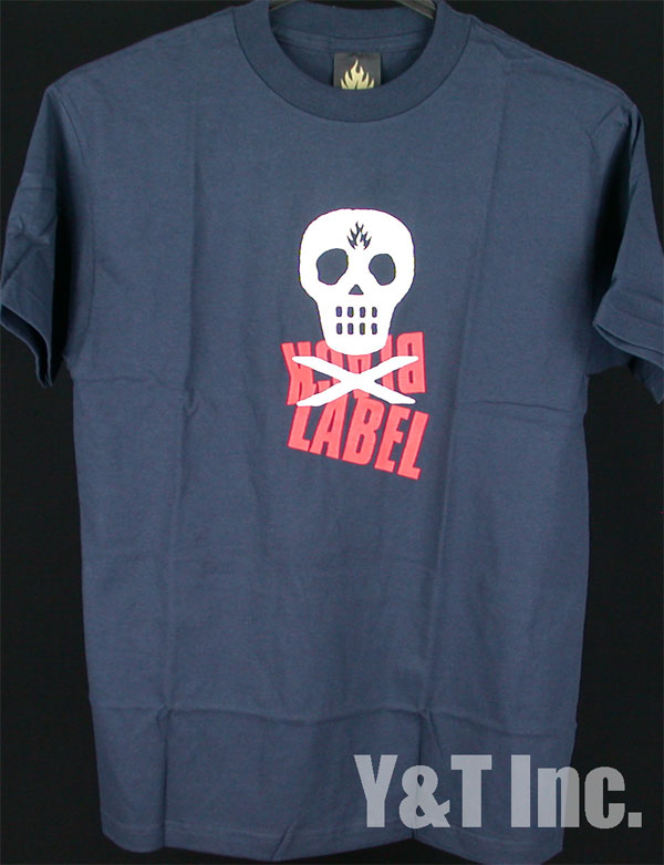 BLACK LABEL T-SHIRTS SKULL LTD NAVY M 1