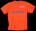 BUSTIN ORANGE TEE REFLECTIVE SAFETY S