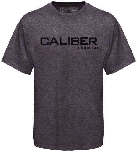 CALIBER T-SHIRT TEXT GREY MEDIUM 1