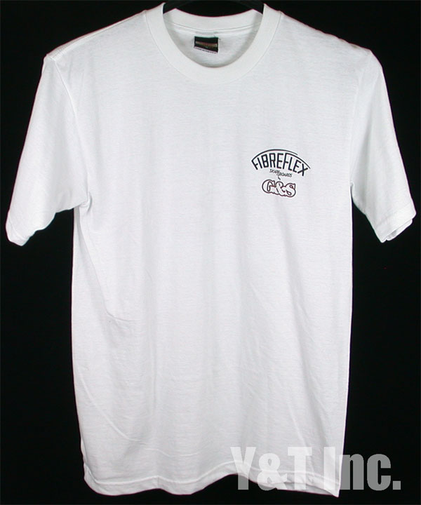 FIBRE FLEX T-SHIRTS WHITE M 1