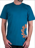 ORANGATANG T-SHIRT BLUE XL