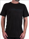 LOADED T-SHIRT LOGO BLACK L