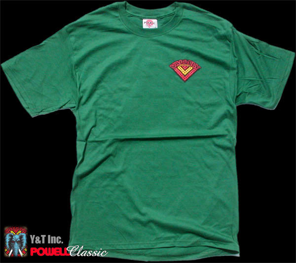 POWELL T-SHIRTS GREEN M 1