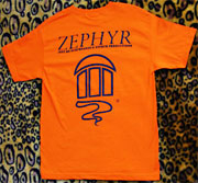 ZEPHYR T-SHRIT ORANGE M