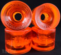 SEISMIC 3DM AVALON 68mm 78a CLEAR ORANGE
