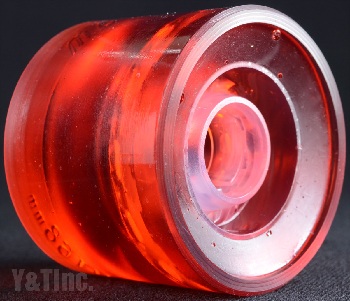 SEISMIC 3DM AVALON 68mm 78a CLEAR RED 3