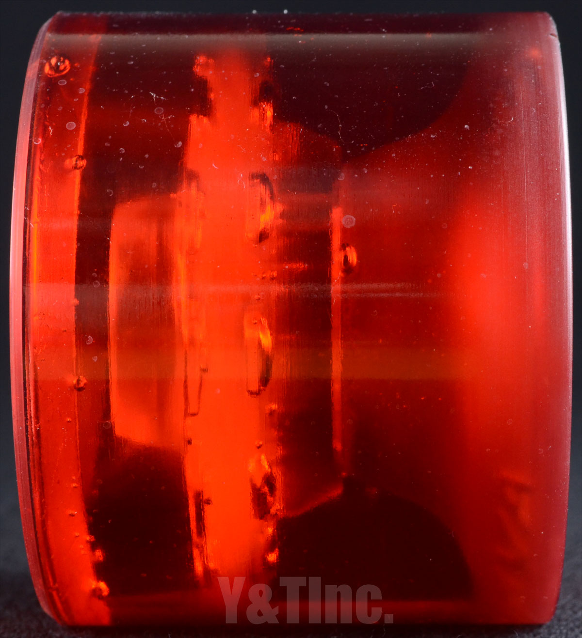 SEISMIC 3DM AVALON 68mm 78a CLEAR RED 4