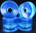 SEISMIC 3DM AVALON 68mm 80a CLEAR BLUE