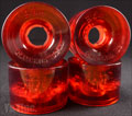 SEISMIC 3DM CAMBRIA ROAD RIDER 62mm 80a CLEAR RED