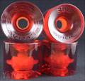 SEISMIC 3DM AVILA ROAD RIDER 75mm 73a CLEAR RED