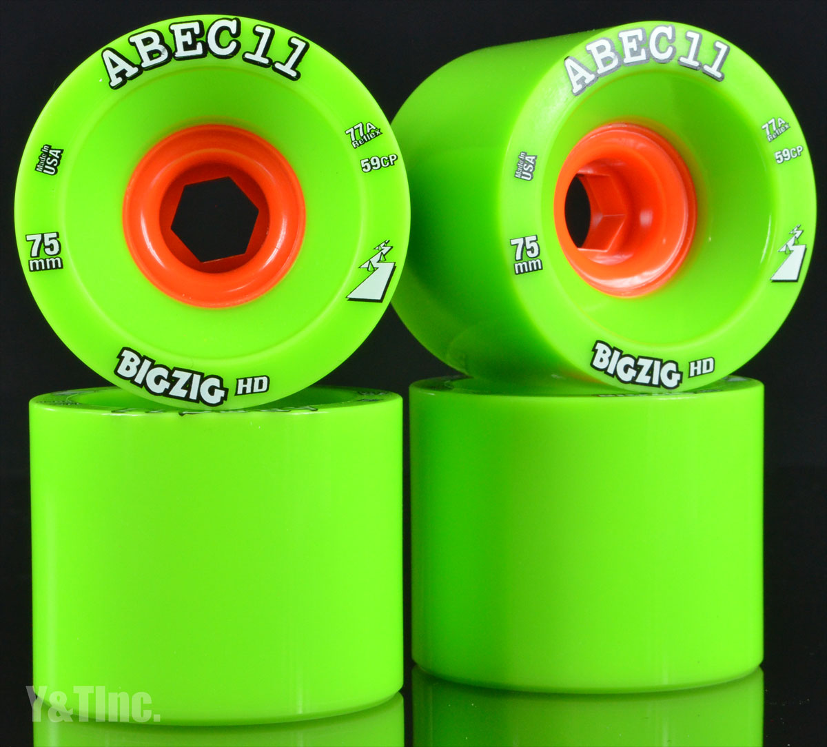 ABEC11 BigZigs HD 75mm 77a 1