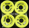 ABEC11 Big Zigs 75mm 83a Lemons