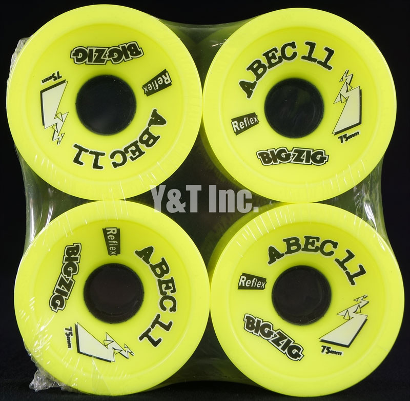 ABEC11 Big Zigs 75mm 83a Lemons 1