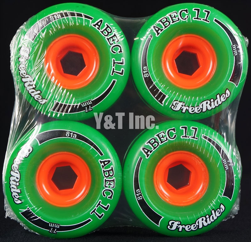 ABEC11 CLASSIC FREERIDES 77mm 81a 1