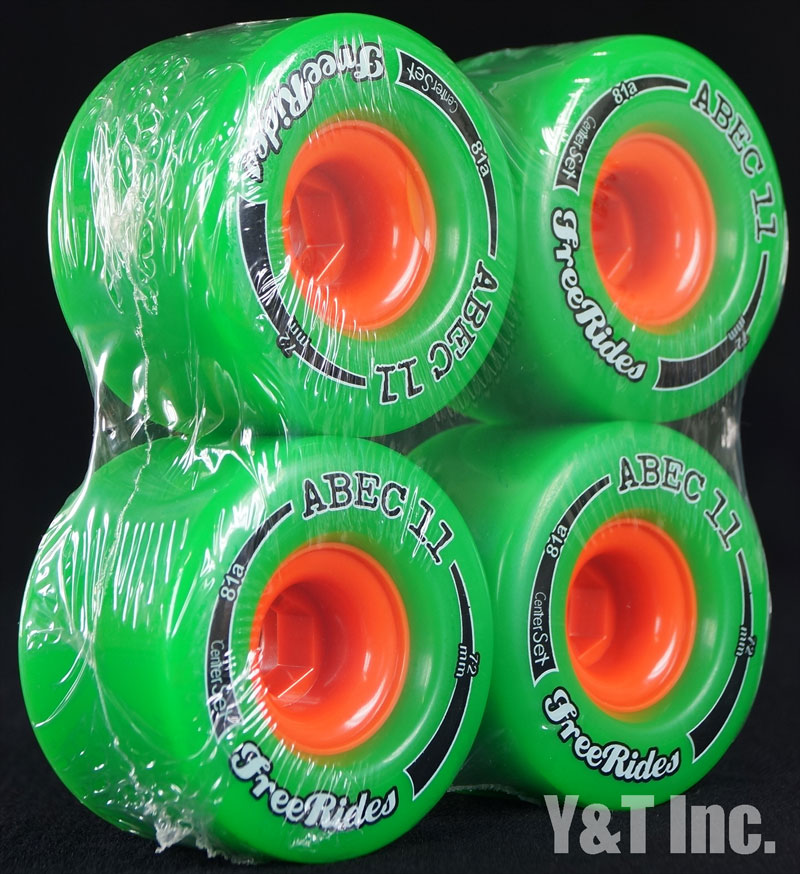 ABEC11 CLASSIC FREERIDES CENTER SET 72mm 81a 2