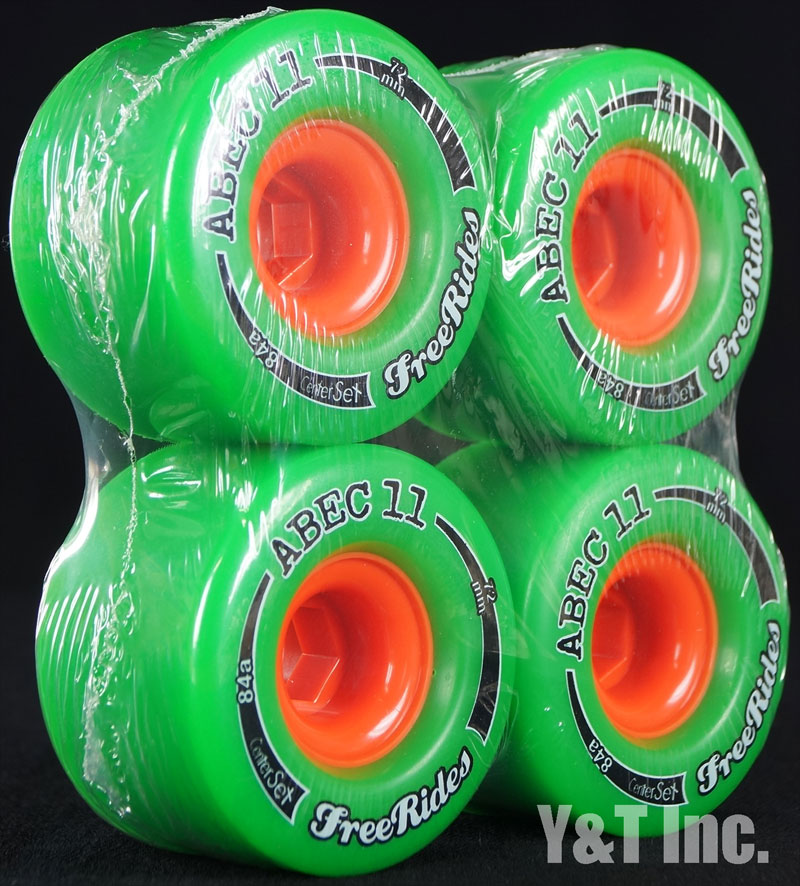 ABEC11 CLASSIC FREERIDES CENTER SET 72mm 84a 2