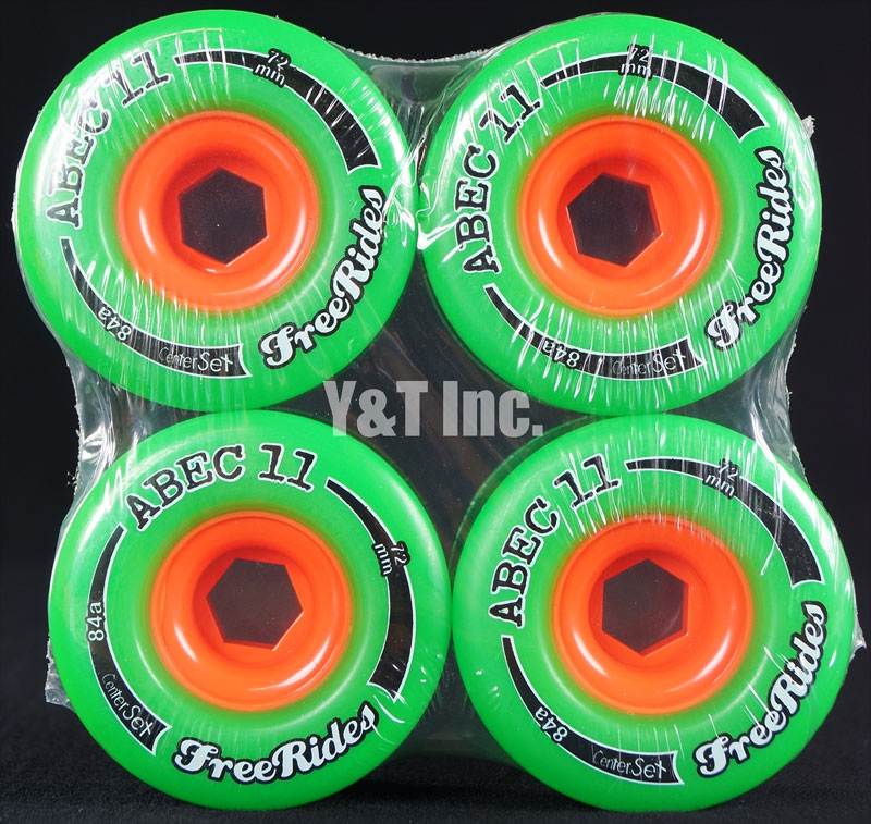 ABEC11 CLASSIC FREERIDES CENTER SET 72mm 84a 1