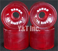 RETRO Classic Big Zigs 75mm 78a Red