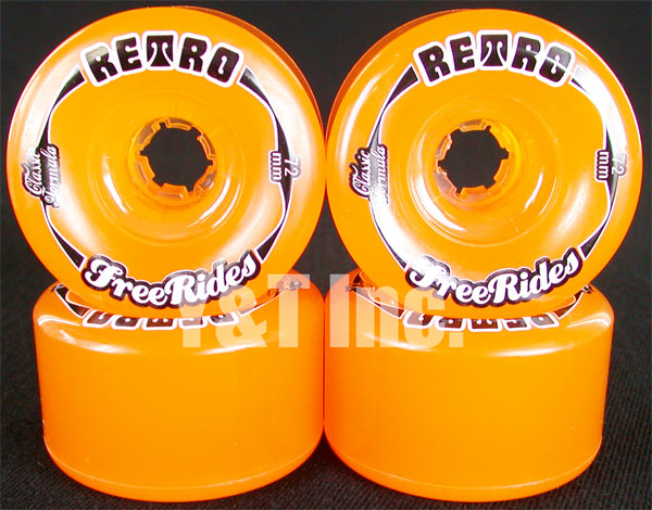 RETRO Classic FREERIDE 72mm 81a Amber 1