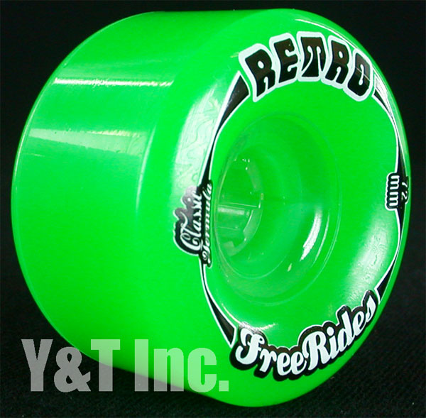 RETRO Classic FREERIDE 72mm 84a Green 1