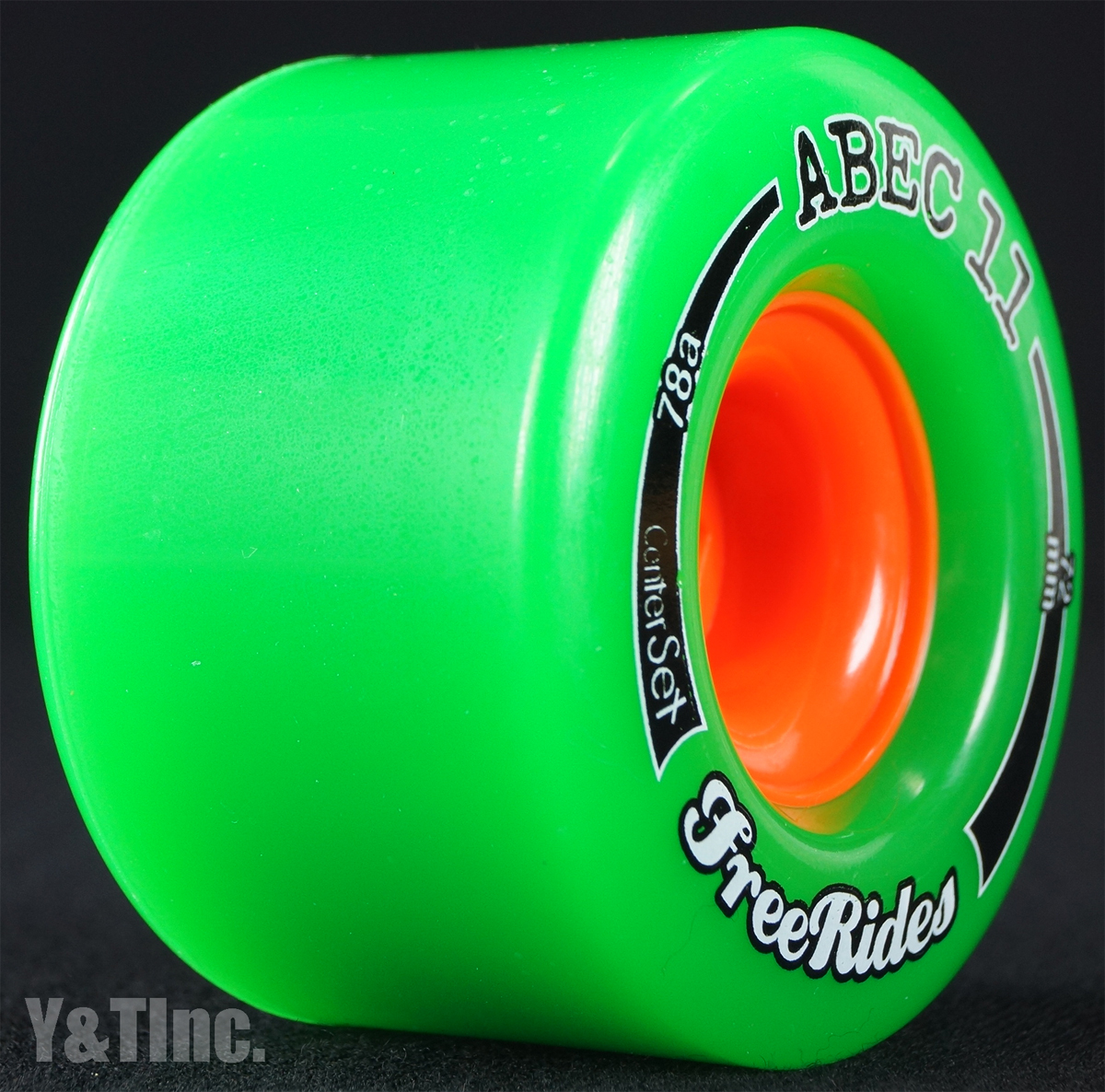 ABEC11 CLASSIC FREERIDES CENTER SET 72mm 78a 1