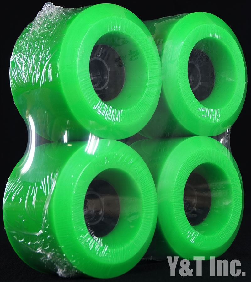 ABEC11 ELECTRIC FLYWHEELS 107mm 74a Green 1