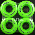 ABEC11 ELECTRIC FLYWHEELS 107mm 80a Lime