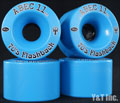 ABEC11 Flashbacks 70mm 81a BLUE