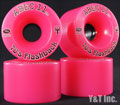ABEC11 Flashbacks 70mm 78a PINK