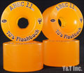 ABEC11 Flashbacks 70mm 81a AMBER