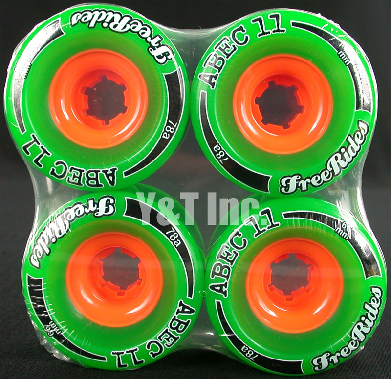 ABEC11 CLASSIC FREERIDES 66mm 78a 1