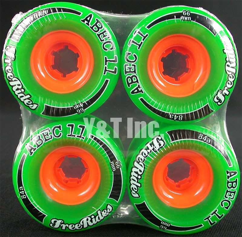 ABEC11 CLASSIC FREERIDES 66mm 84a 1