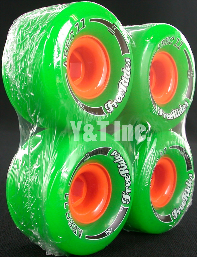 ABEC11 CLASSIC FREERIDES 72mm 78a 1