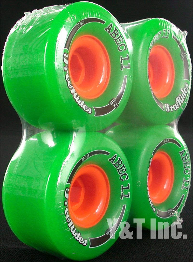 ABEC11 CLASSIC FREERIDES 72mm 84a 1