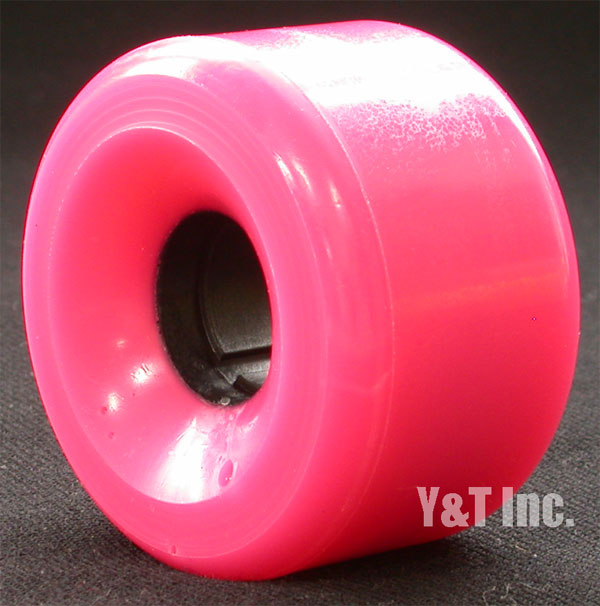 PINK Polka dots 62mm 78a Pink 1
