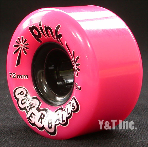 PINK Power Balls 72mm 78a Pink 2