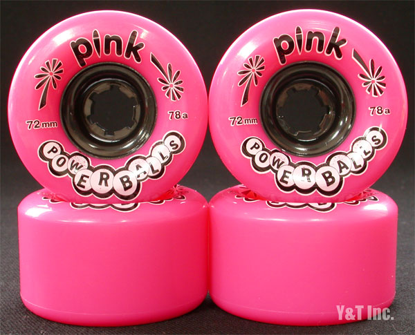PINK Power Balls 72mm 78a Pink 1
