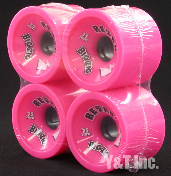 RETRO Big Zigs 75mm 77a Pink 1