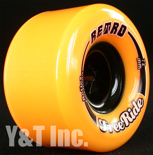 RETRO FREERIDE 72mm 86a Orange 2
