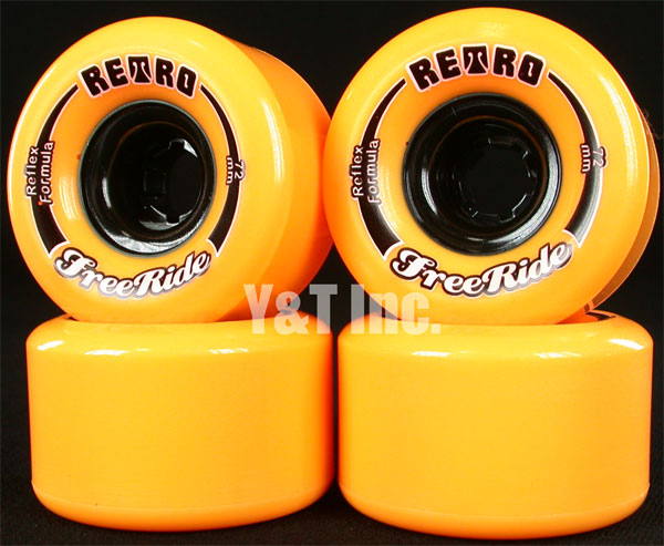 RETRO FREERIDE 72mm 86a Orange 1