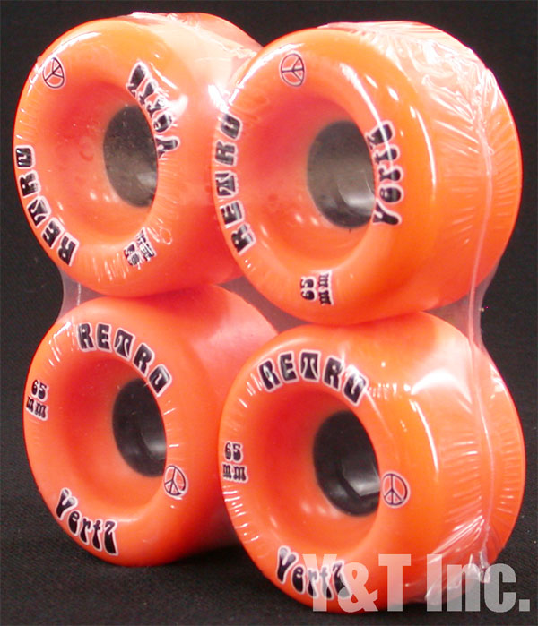 RETRO Vertz 65mm 96a Oranges 1