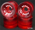 RETRO Zig Zags 66mm 78a Red Riders