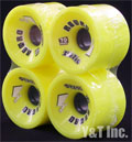 RETRO Zig Zags 70mm 83a Lemons