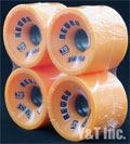 RETRO Zig Zags 70mm 86a Oranges