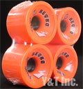 RETRO Zig Zags 70mm 89a Orange Plus