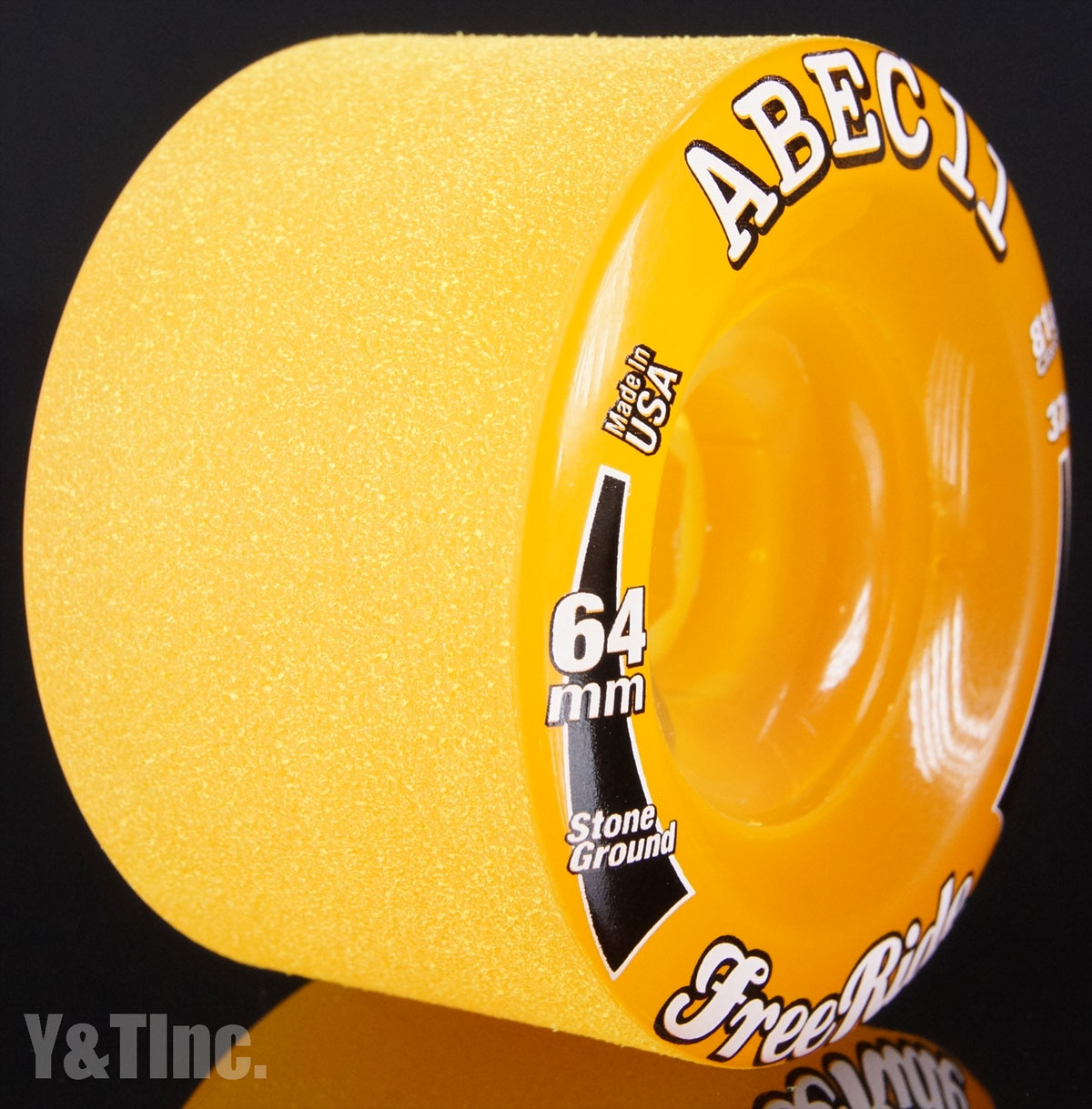 ABEC11 SG FreeRides 64mm 81a Amber 2