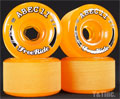 ABEC11 Stone Ground FreeRides 70mm 81a Amber