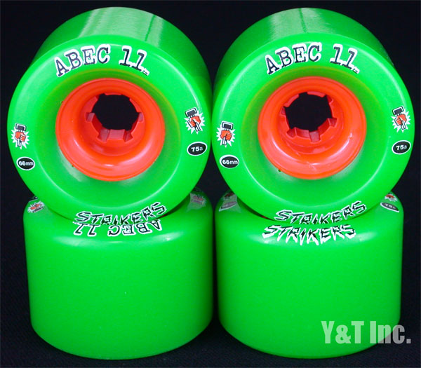 ABEC11 Strikers 66mm 75a 1